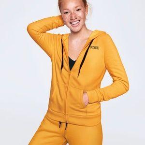 NWT PINK Victoria's Secret Perfect Full Zip Hoodie